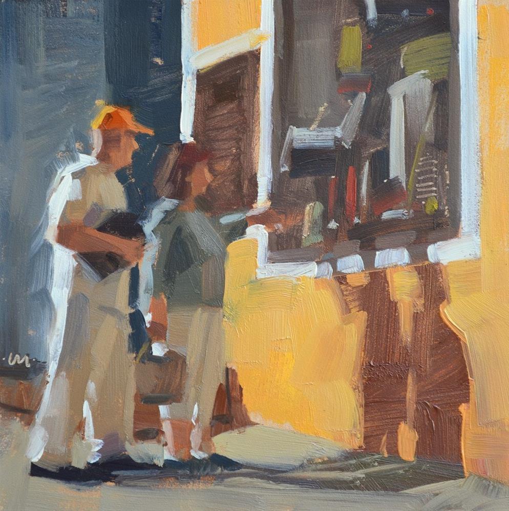 """""""I Want This"""" original fine art by Carol Marine"""