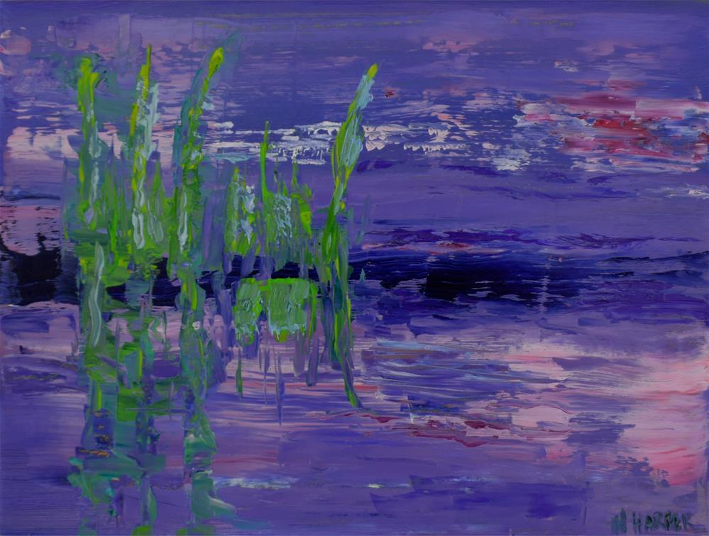 """""""Abstract #7"""" original fine art by Nelia Harper"""