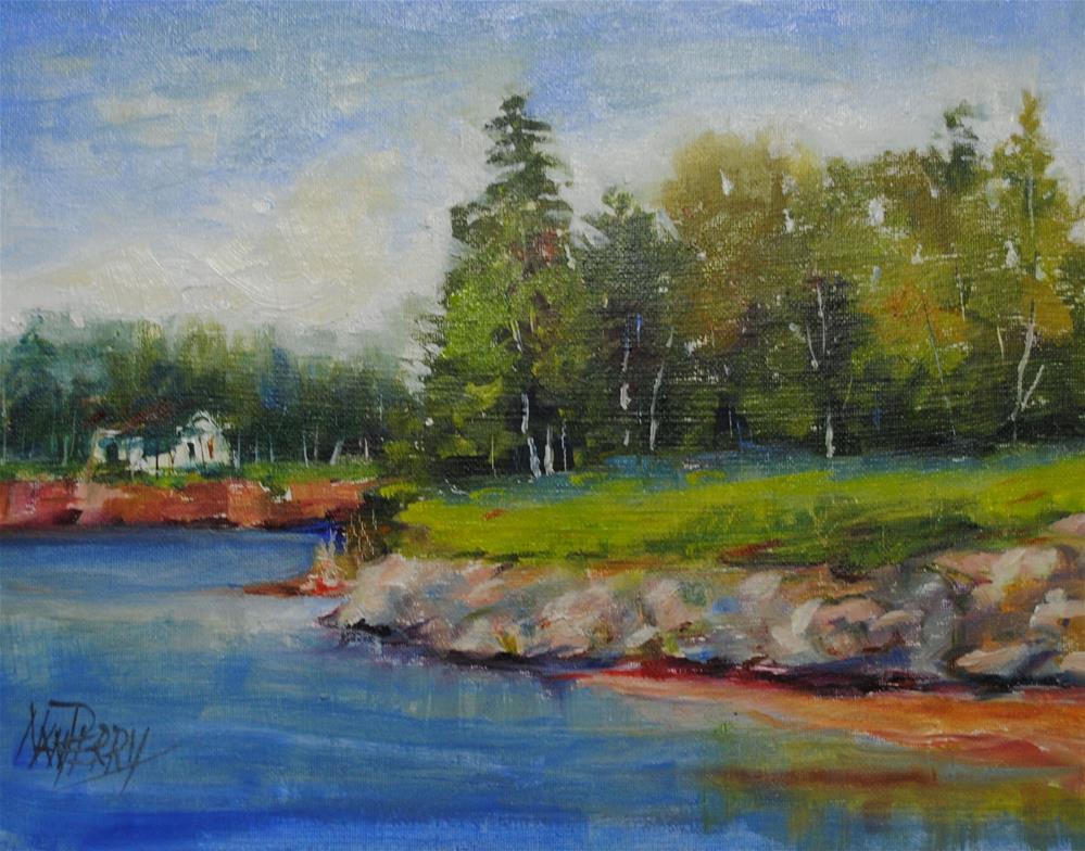 """MacPheil's Beach"" original fine art by Nan Perry"