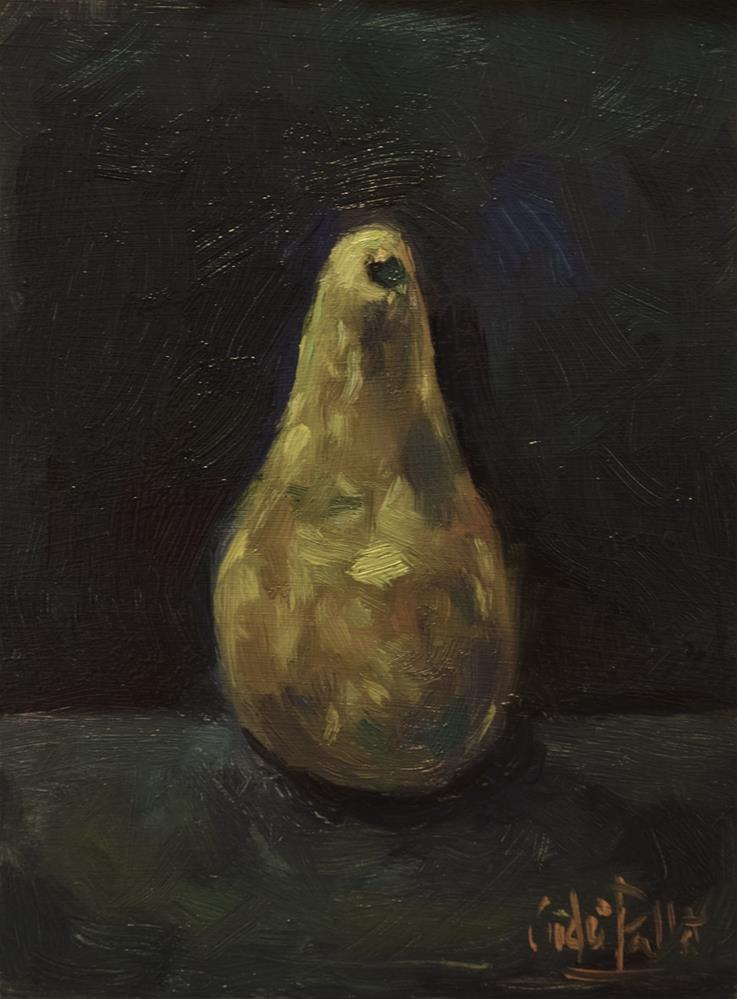"""'Pear'"" original fine art by Andre Pallat"