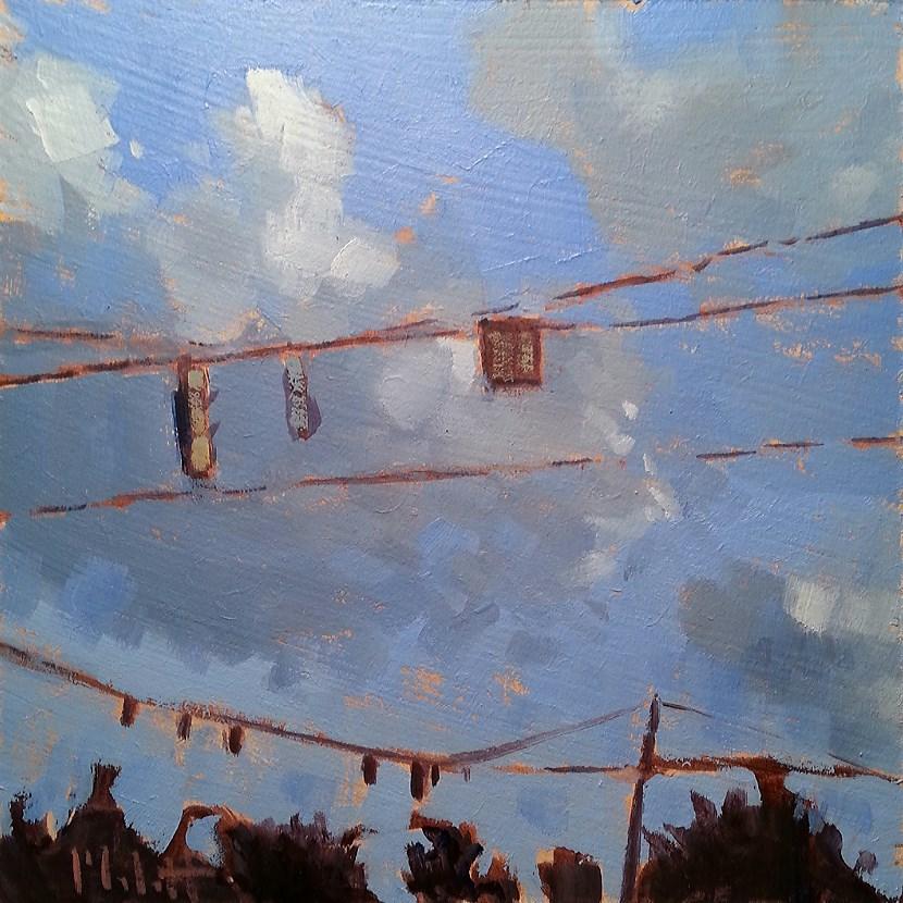 """Heidi Malott Contemporary Impressionism Original Daily Oil Painting"" original fine art by Heidi Malott"