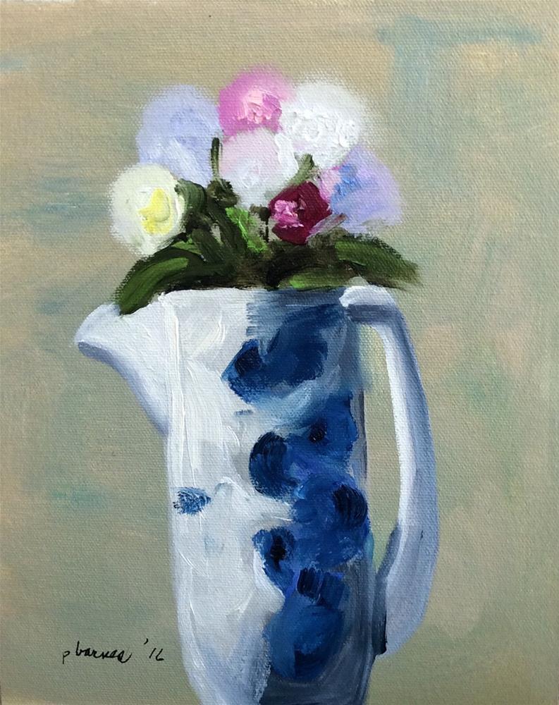 """Hope"" original fine art by Patty Barnes"