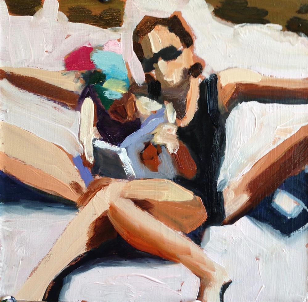 """""""Summer Tango/Tangle"""" original fine art by Pamela Hoffmeister"""