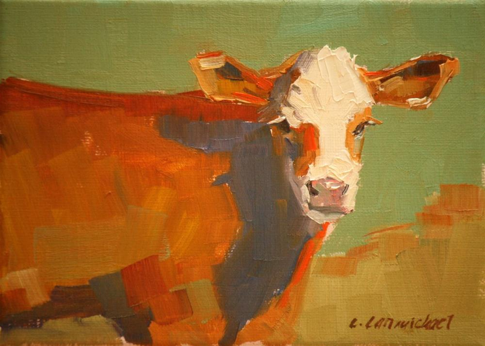 """young one"" original fine art by Carol Carmichael"