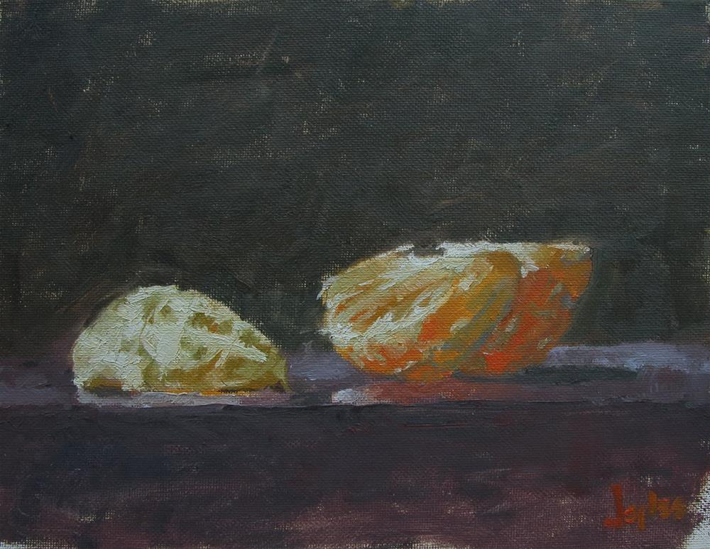 """Navel Orange"" original fine art by Richard Jones"