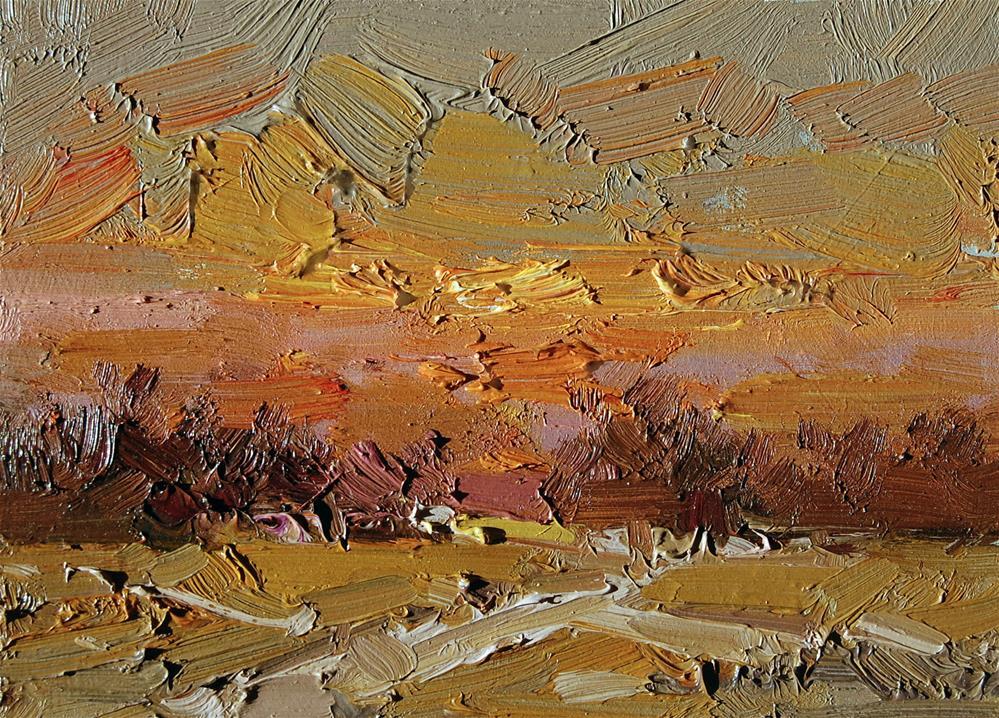 """Twilight Sky"" original fine art by Mostafa Keyhani"