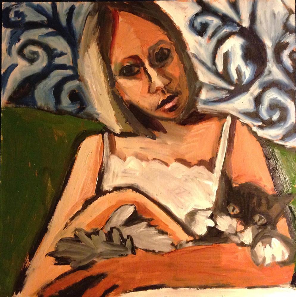"""Marmelade III"" original fine art by Pamela Hoffmeister"