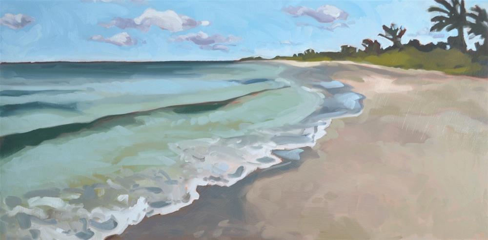 """Sanibel Island"" original fine art by Jessica Green"