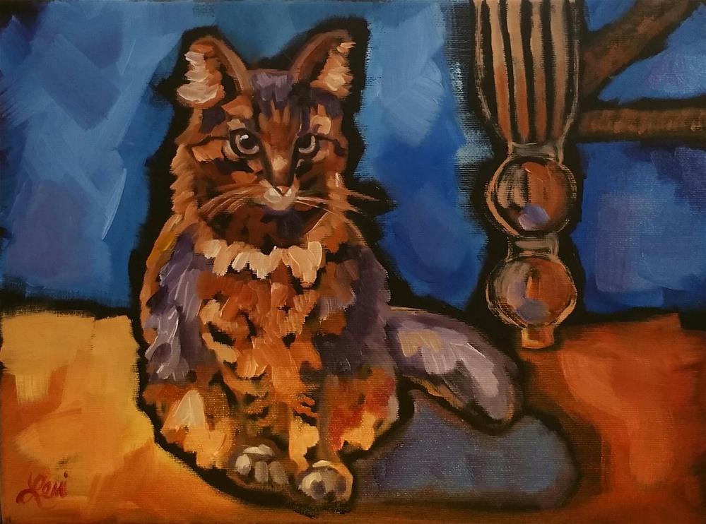 """""""Her Highness"""" original fine art by Leni Tarleton"""