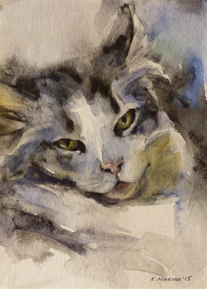 """adopt68"" original fine art by Katya Minkina"