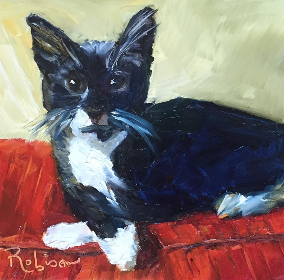 """Martin Mc"" original fine art by Renee Robison"