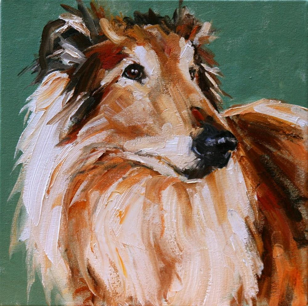 """pete"" original fine art by Carol Carmichael"