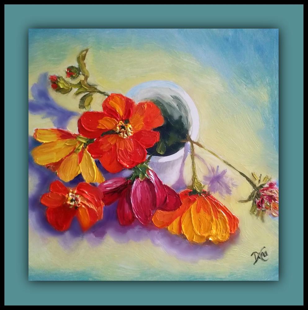 """Cup of Joy"" original fine art by Dana C"