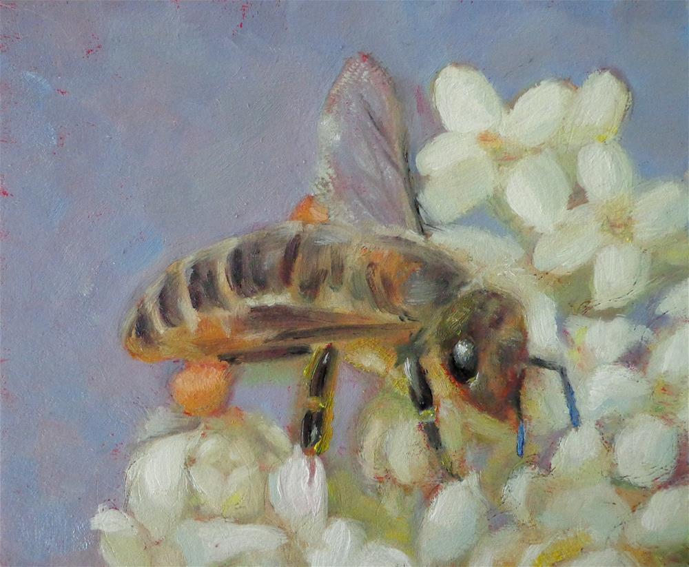 """Bee"" original fine art by Maria Z."