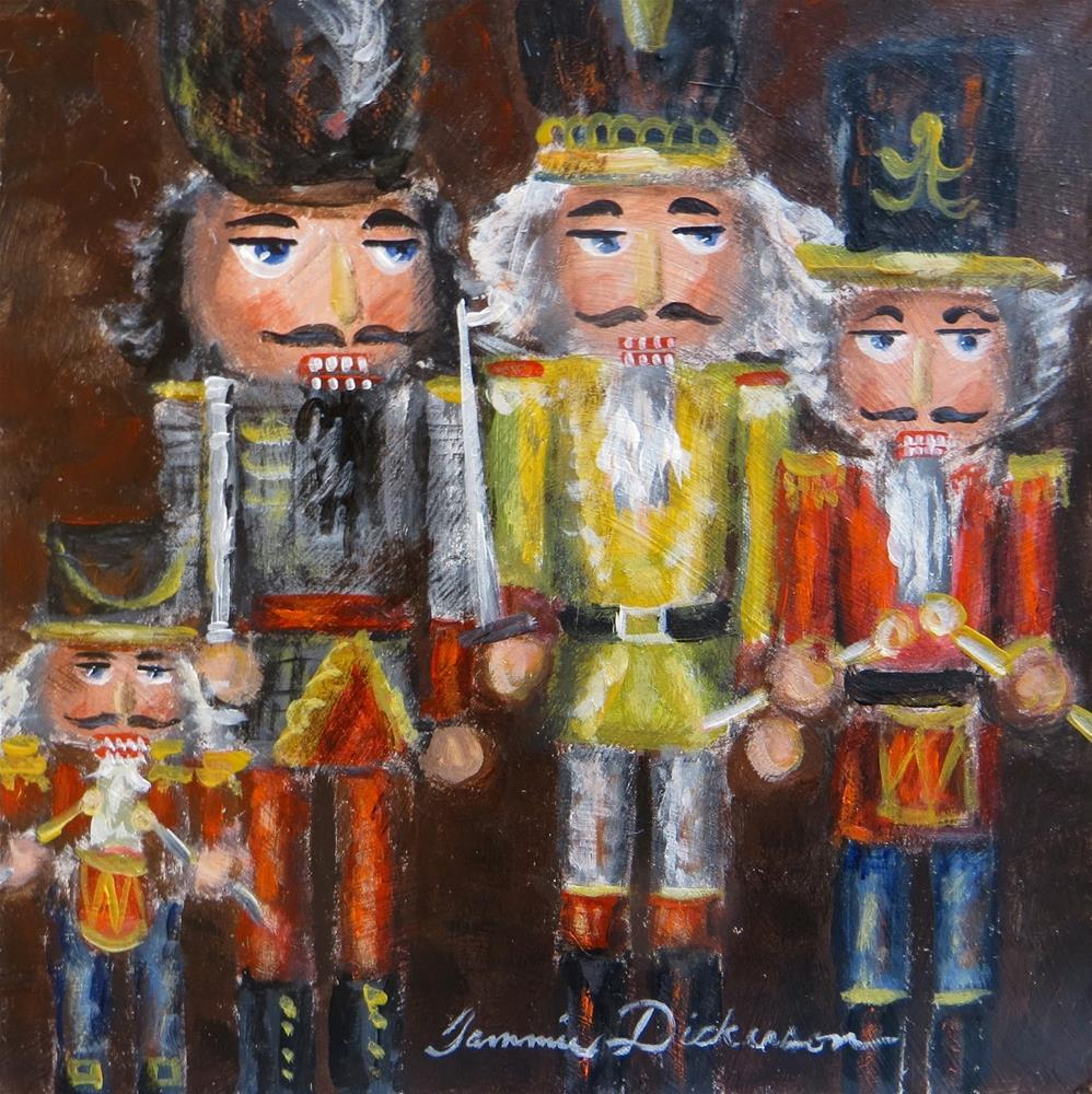 """Fab Four"" original fine art by Tammie Dickerson"