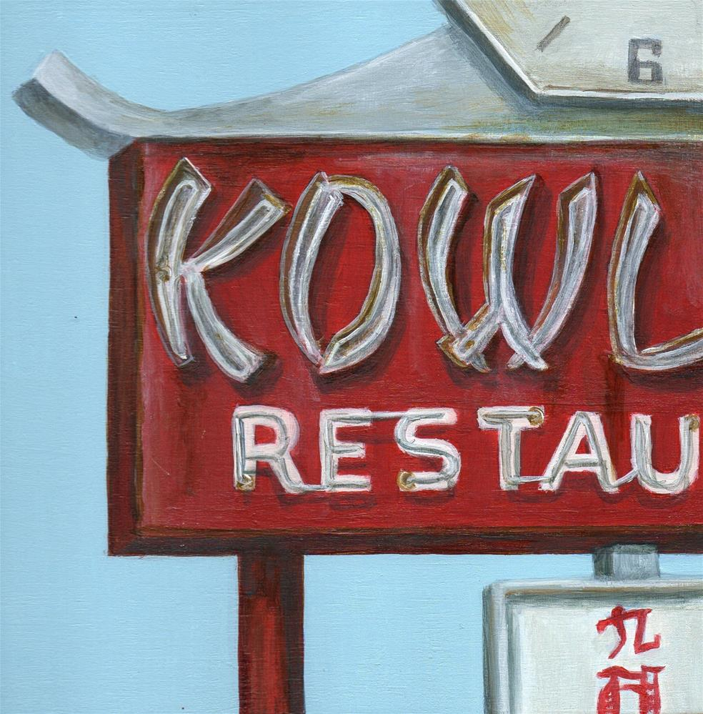 """Kowloon"" original fine art by Debbie Shirley"
