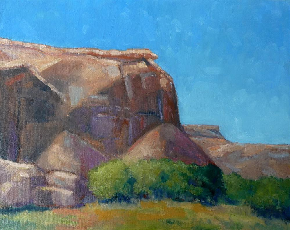 """Light in the Canyon"" original fine art by Lisa Kyle"