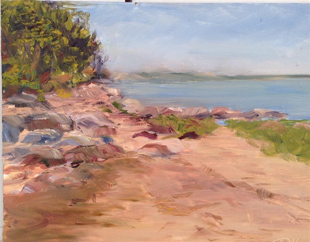 """Scudder Lane"" original fine art by Debra Kennedy"
