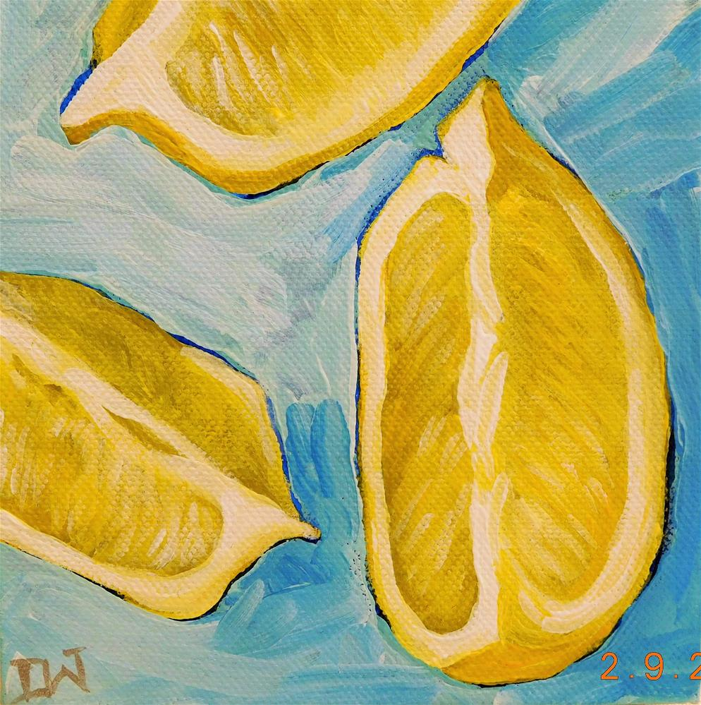 """Lemon Quarters"" original fine art by Daryl West"
