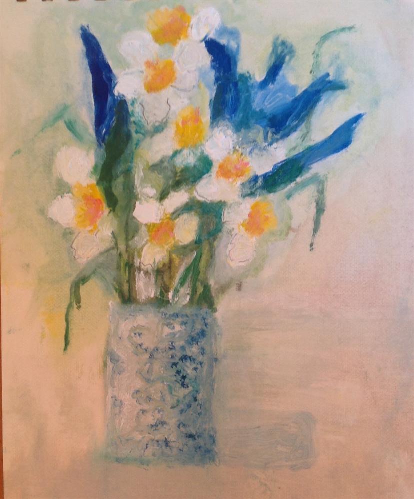 """Spring"" original fine art by Karen Pinard"