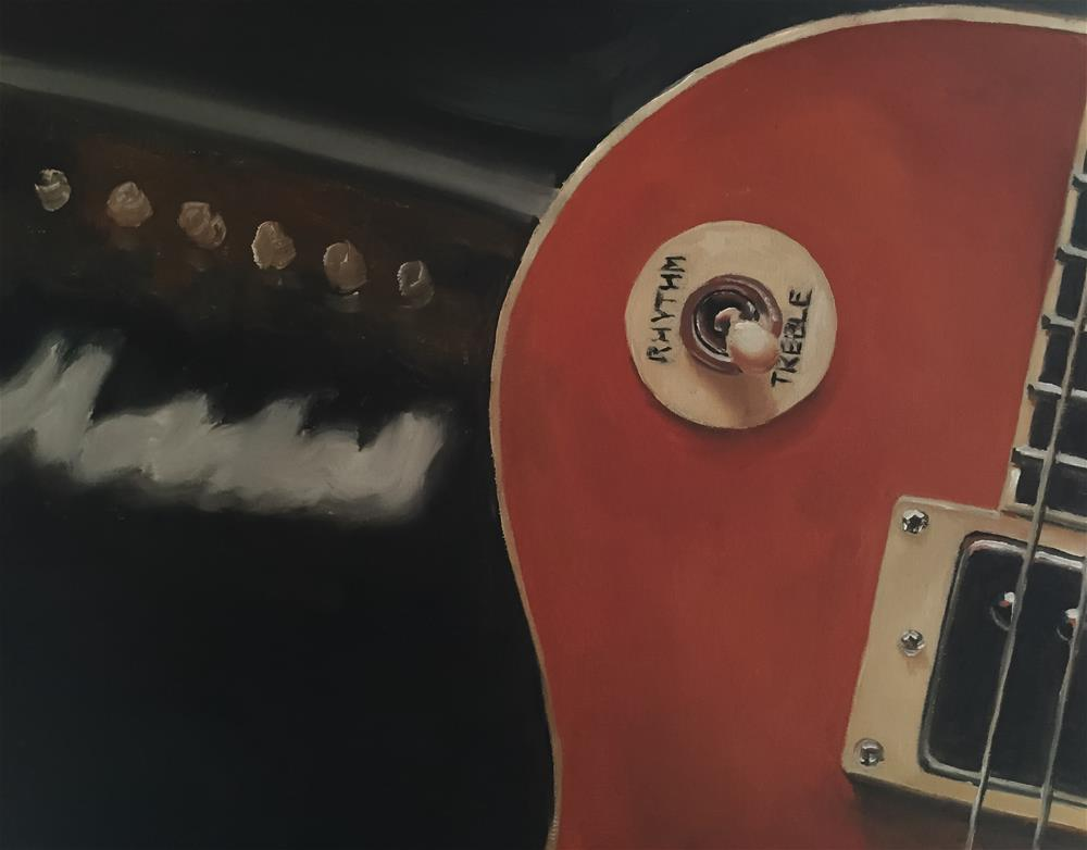 """Gibson and Marshall"" original fine art by James Coates"