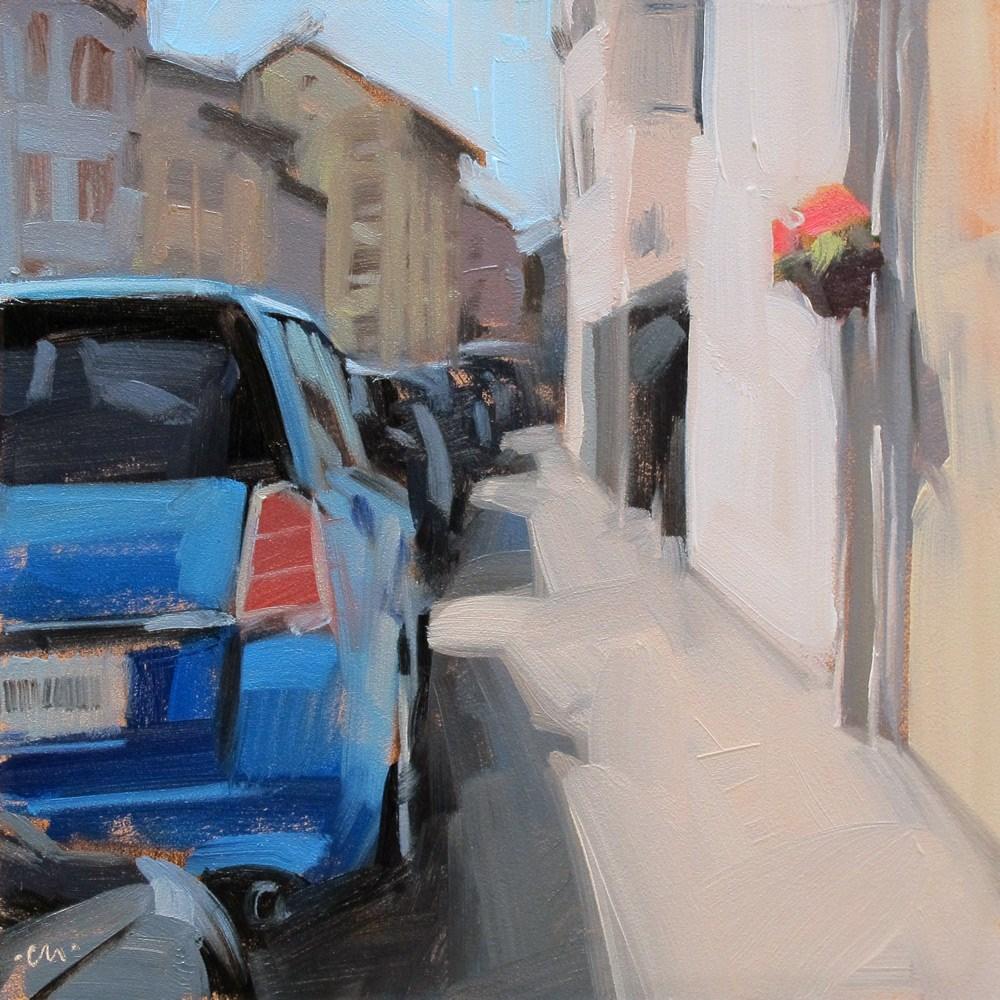 """""""Orderly Rows"""" original fine art by Carol Marine"""