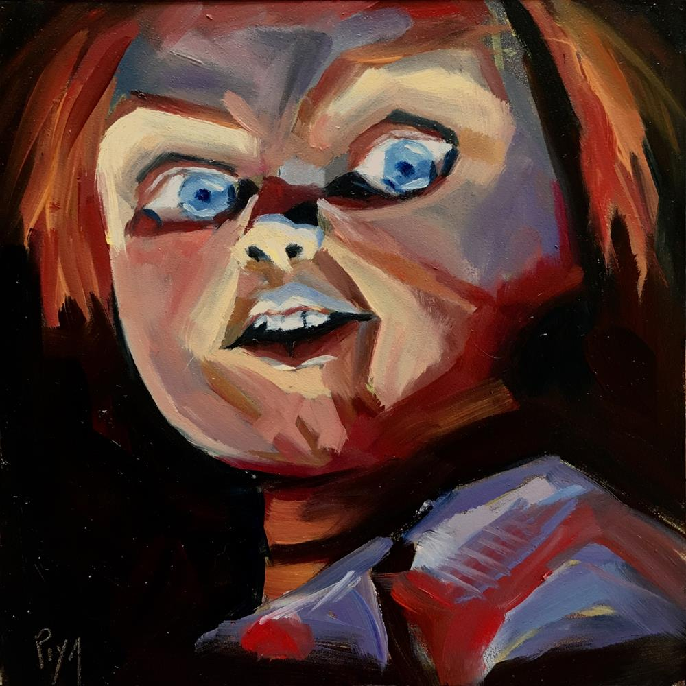 """CHUCKY"" original fine art by Piya Samant"