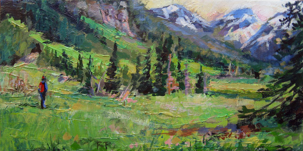 """A World Away"" original fine art by Robin Peterson"
