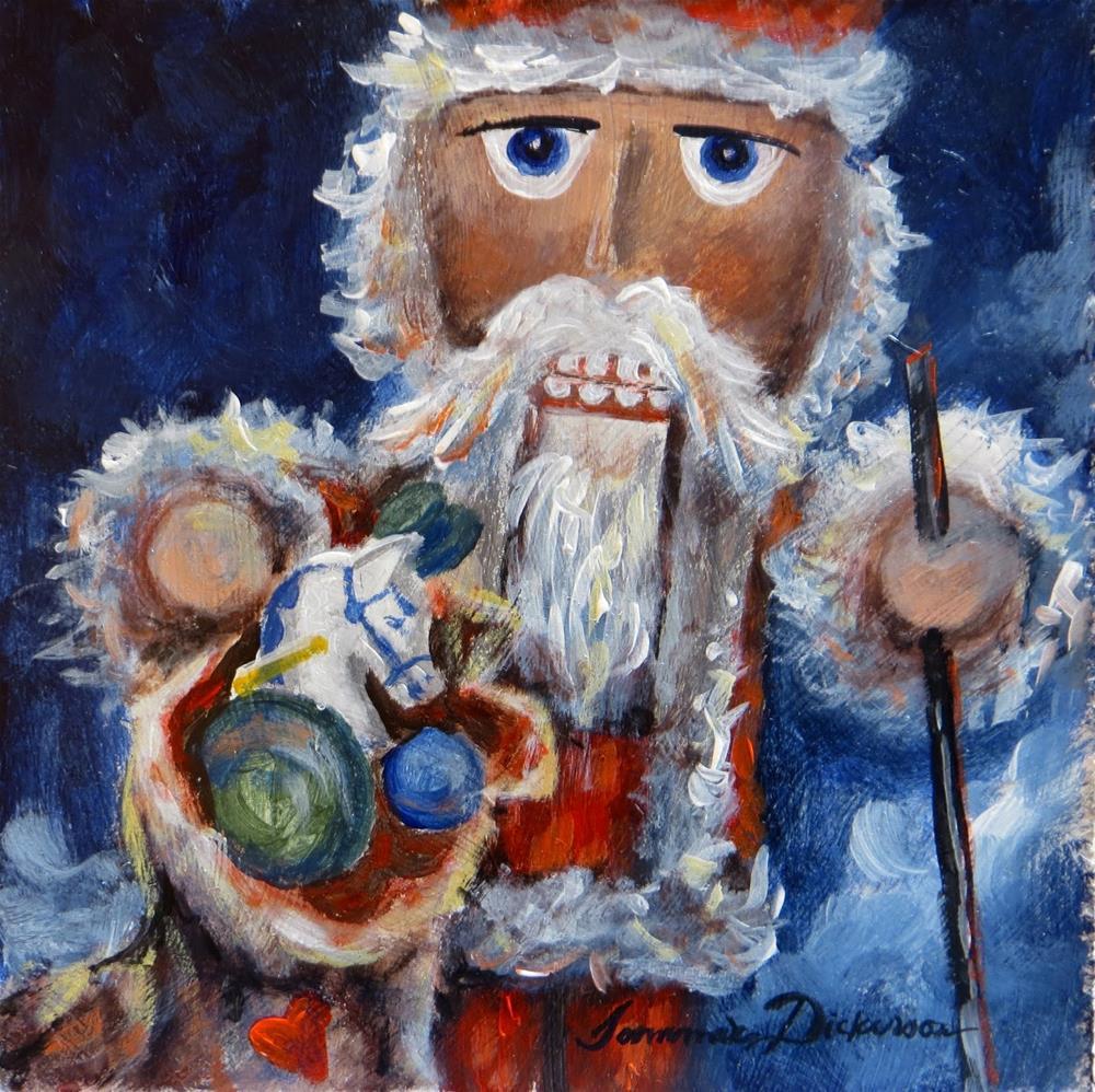 """""""Santa Nutcracker!"""" original fine art by Tammie Dickerson"""