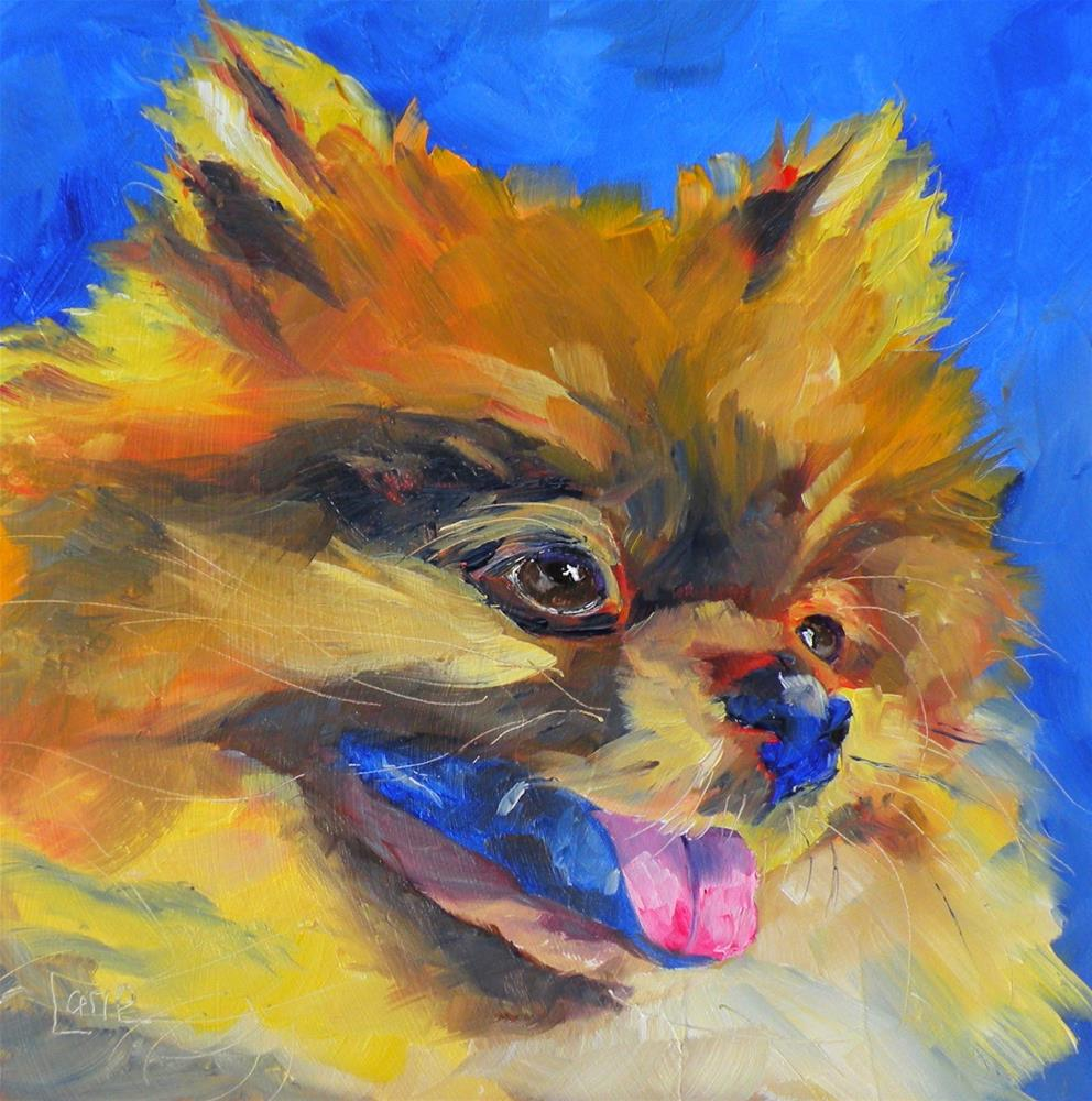 """BO 54/101 OF 101 PET PORTRAITS IN 101 DAYS © SAUNDRA LANE GALLOWAY"" original fine art by Saundra Lane Galloway"