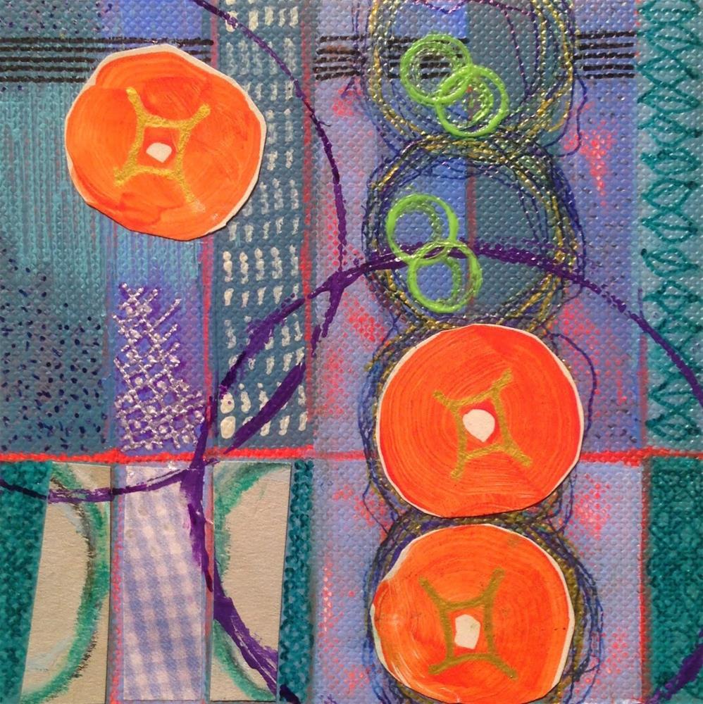 """""""Stria #3"""" original fine art by Dotty  Seiter"""