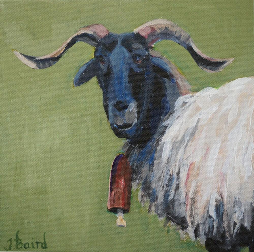 """Henri"" original fine art by Jeanette Baird"