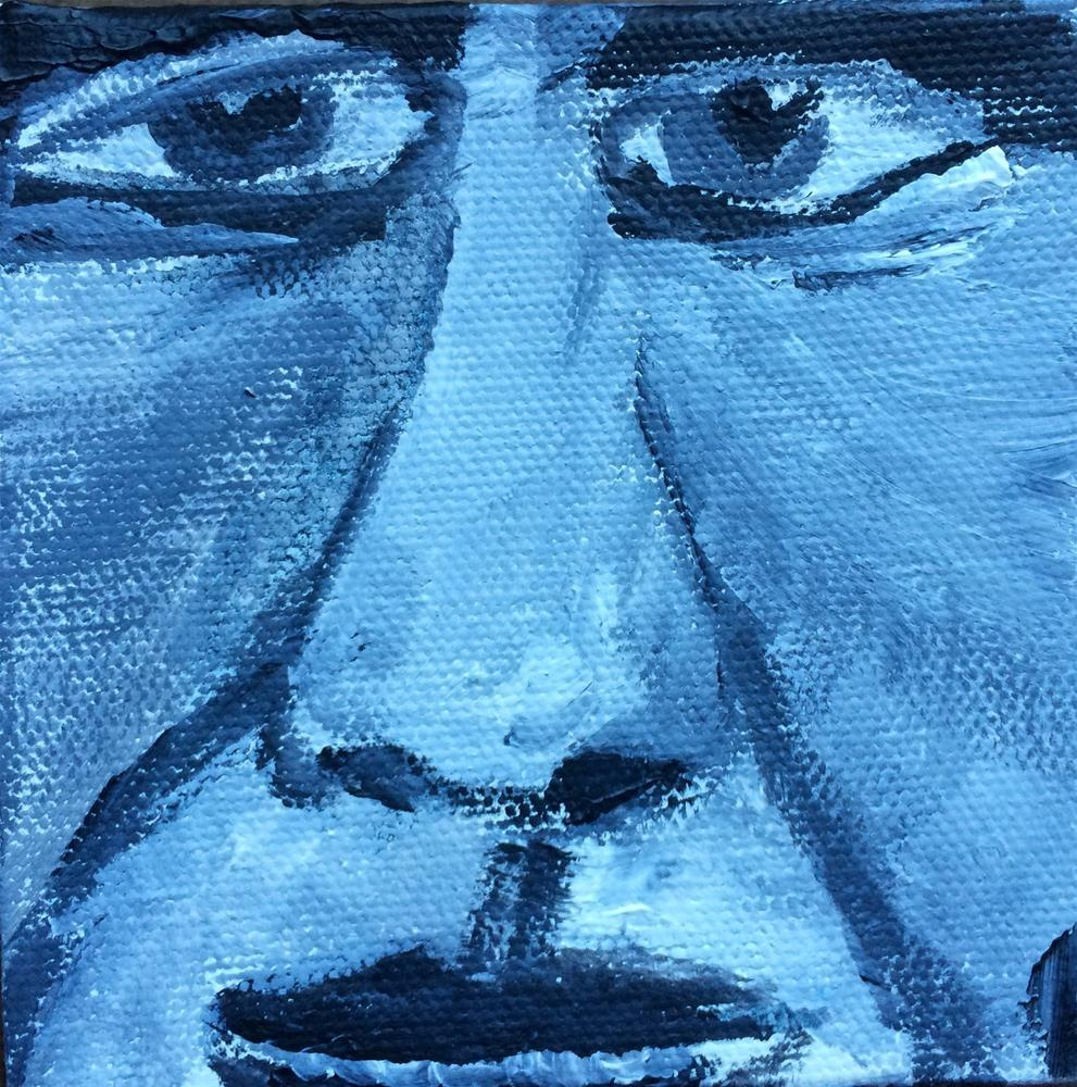 """Expressions - Perplexed"" original fine art by Kimberly Balentine"