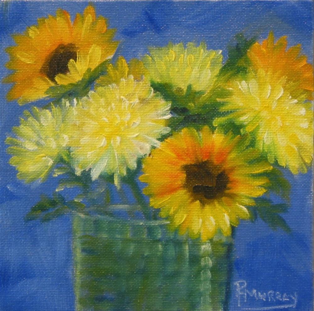 """""""For Me?"""" original fine art by Patricia Murray"""