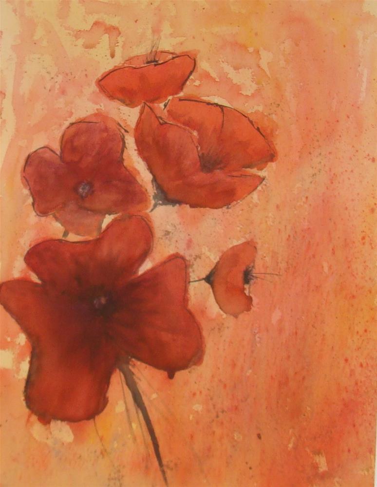 """""""Flowers I"""" original fine art by Vito Cagnazzo"""