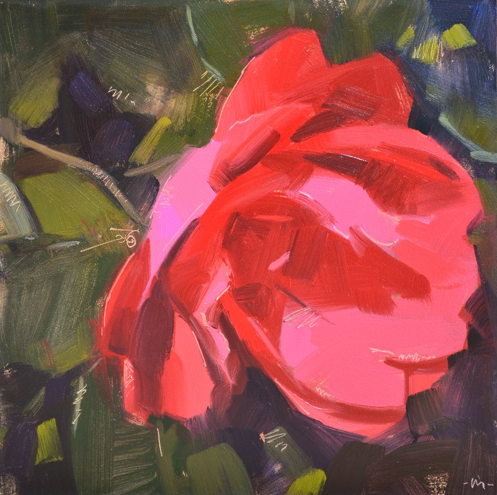 """Sketchy Rose"" original fine art by Carol Marine"