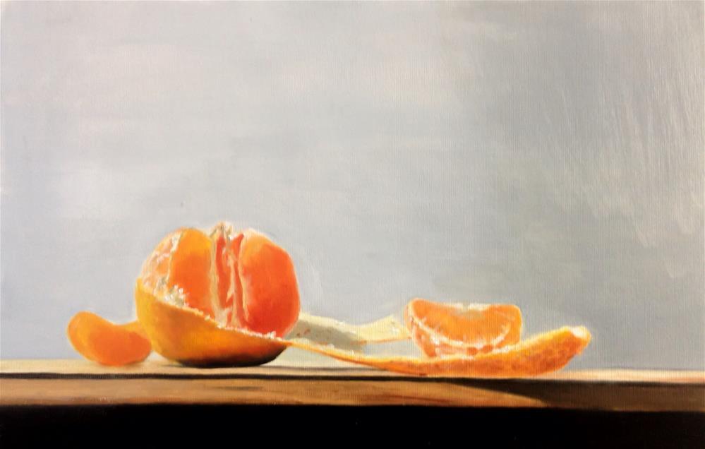 """""""Satsuma"""" original fine art by James Coates"""