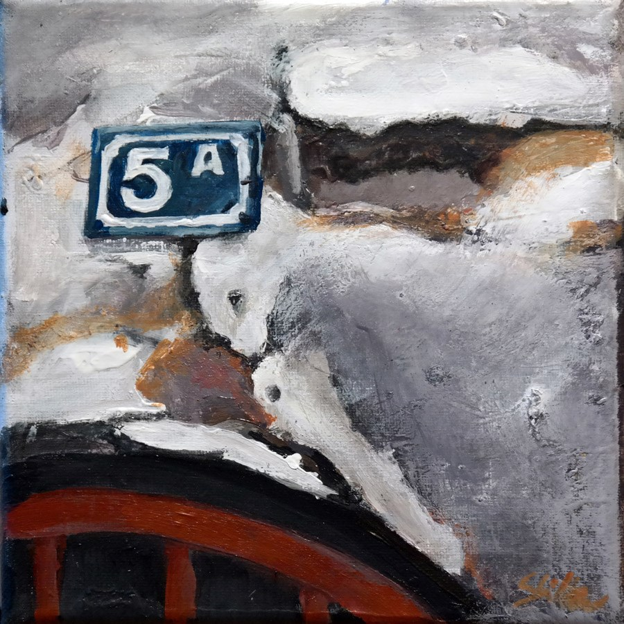 """1645 La Solution"" original fine art by Dietmar Stiller"