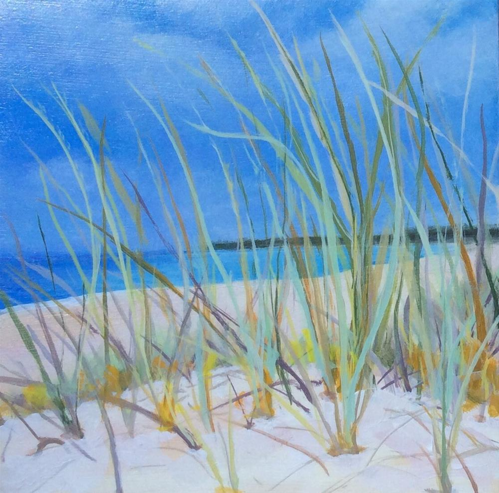 """Sea Grass"" original fine art by wendy black"