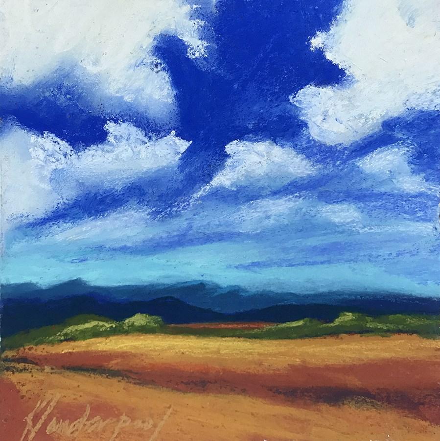 """""""New Mexico Overlook"""" original fine art by Karen Vanderpool"""