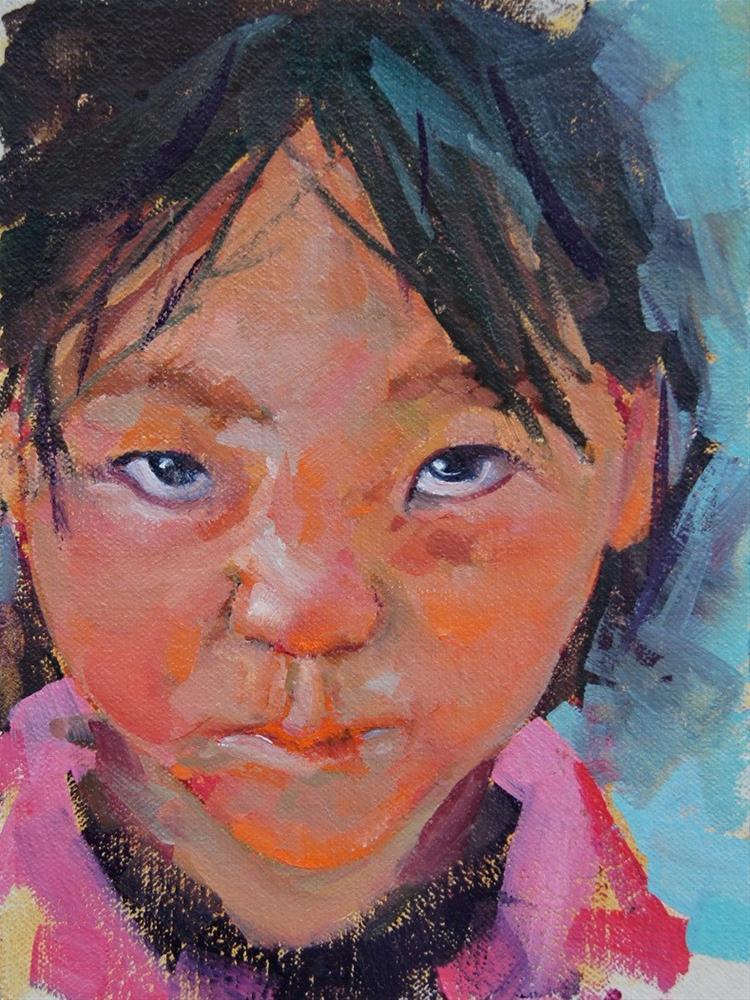 Little Sniffles original fine art by Brian Buckrell