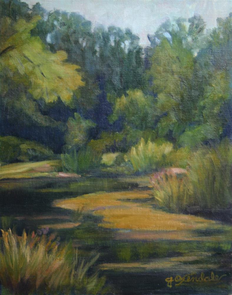 """Swede Hollow"" original fine art by Jan Oxendale"