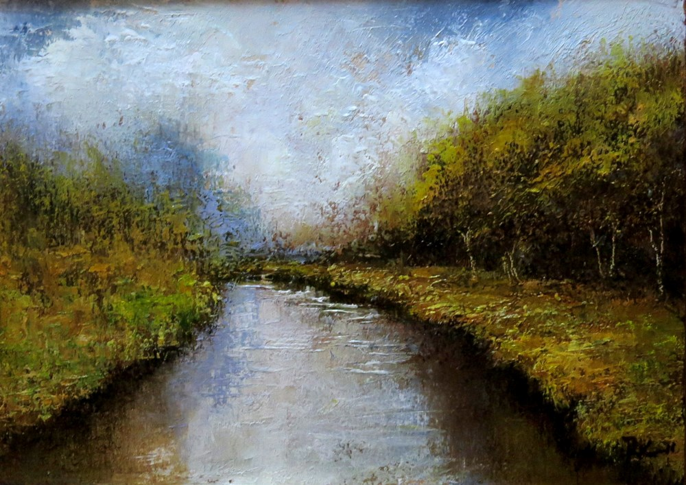 """Virgin River"" original fine art by Bob Kimball"