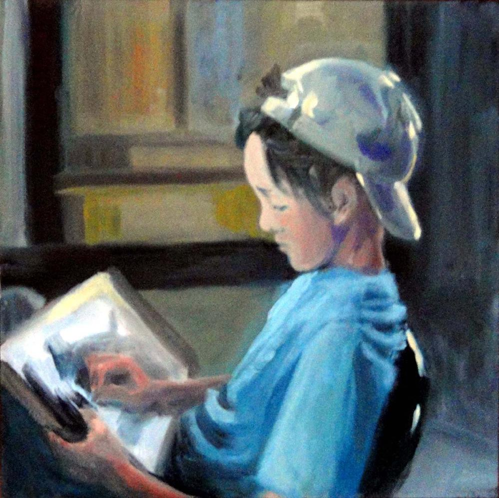 """The Young Artist"" original fine art by Cietha Wilson"