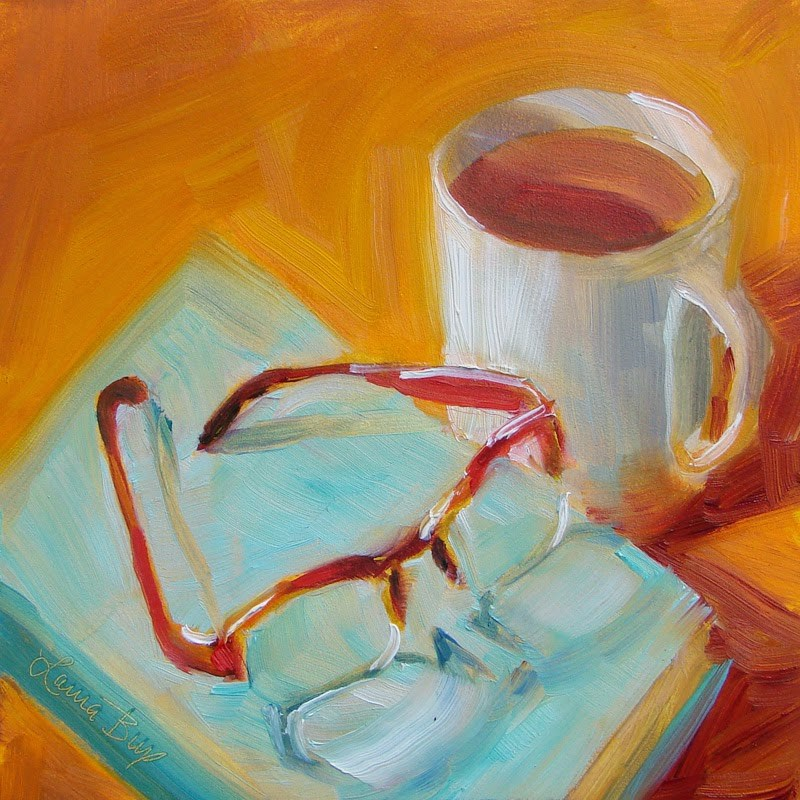 """Afternoon Tea"" original fine art by Laura  Buxo"