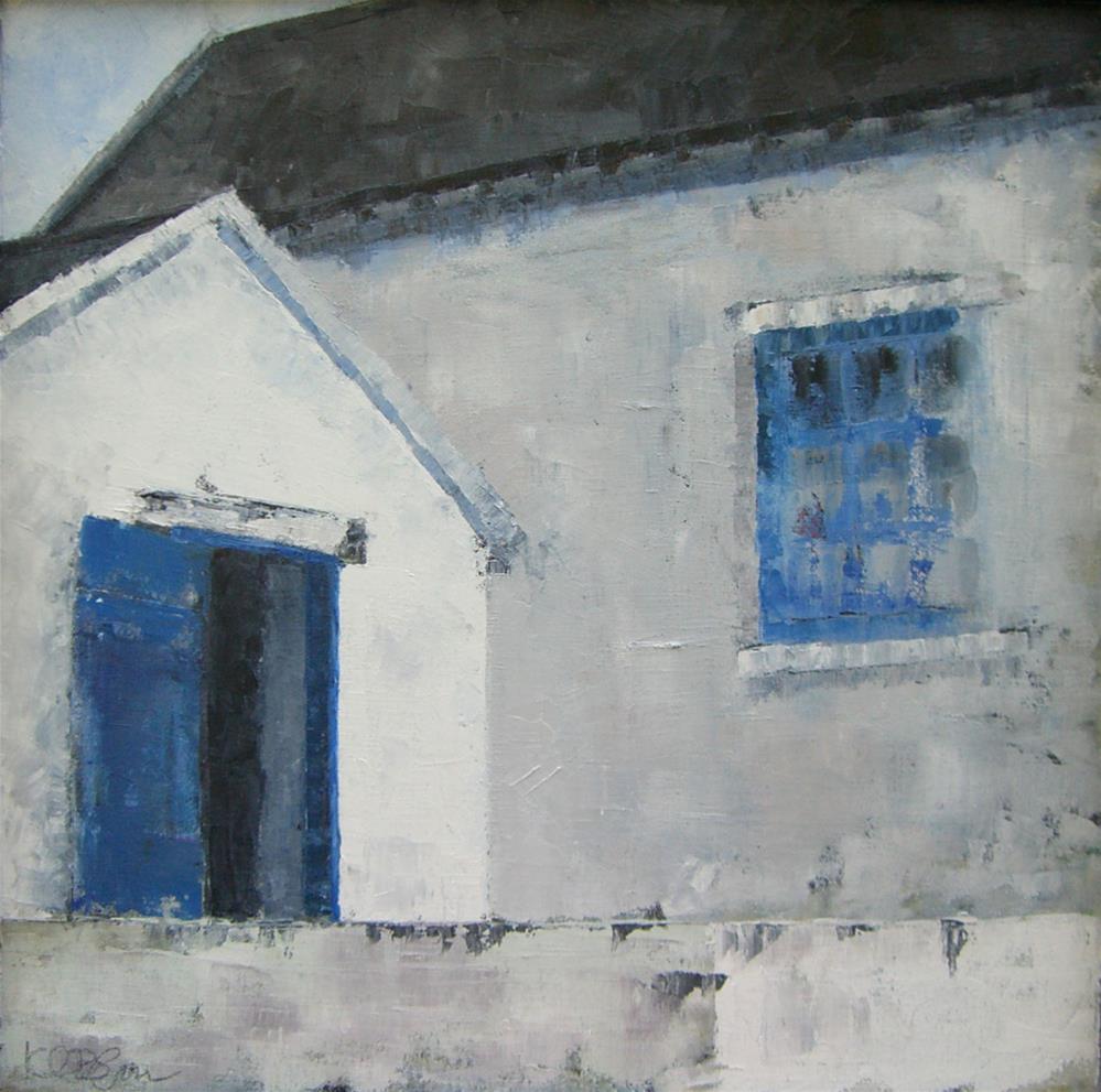 """Hog House"" original fine art by Kathy Broyles"