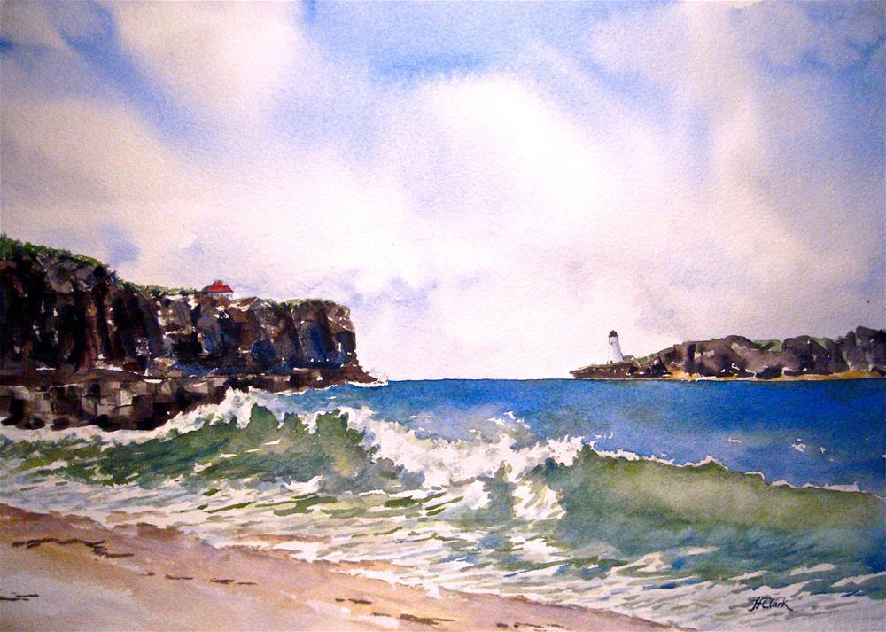 """Atlantic Coast"" original fine art by Judith Freeman Clark"