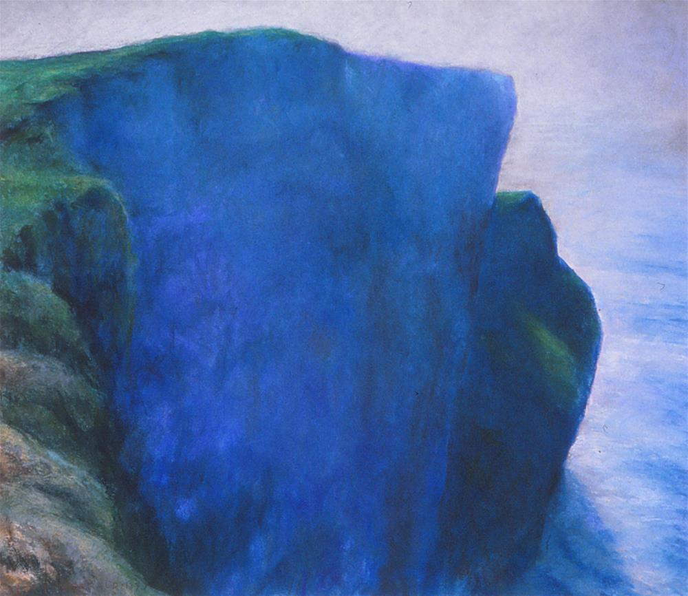 """Moher Face"" original fine art by Joe Fitzgerald"