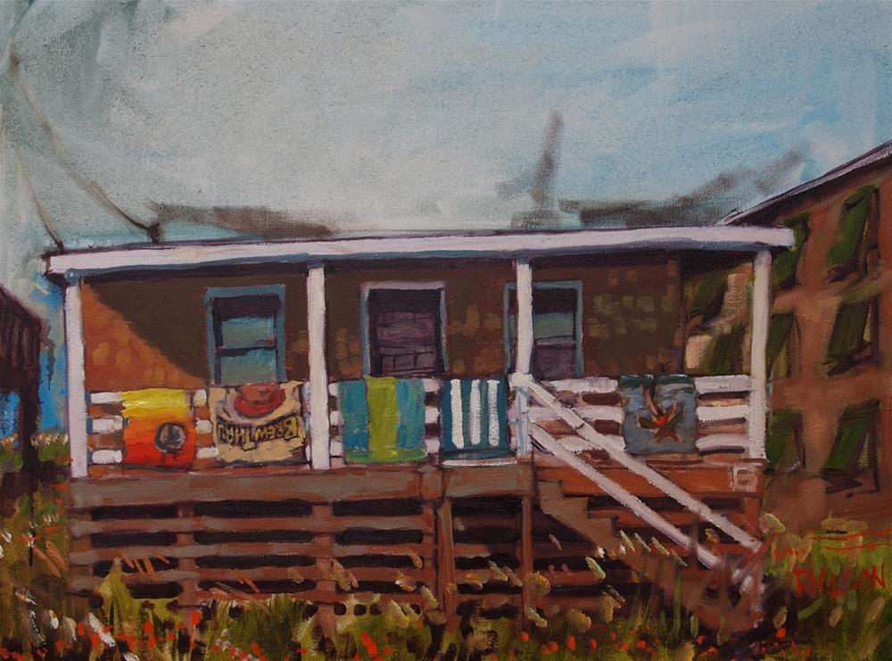 """The BrewThru Experience"" original fine art by Rick Nilson"