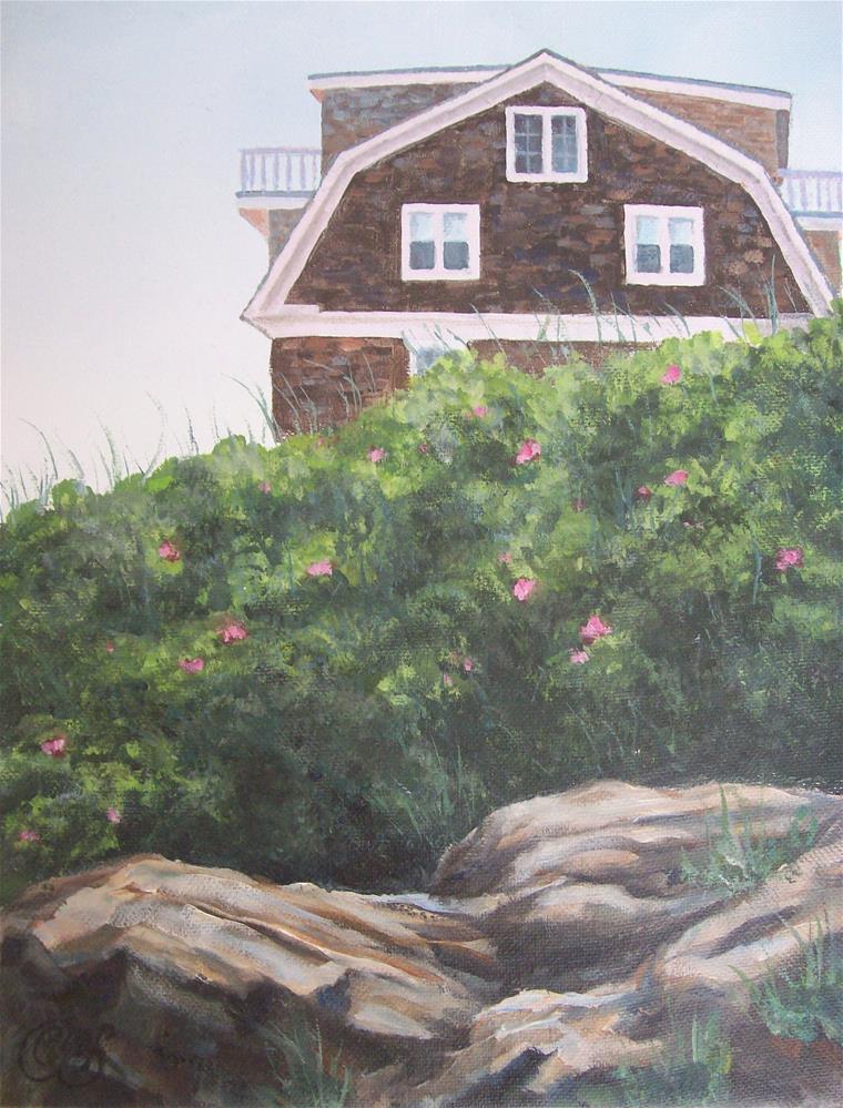 """Kennebunk, Maine"" original fine art by Christine Blain"